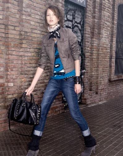MANGO Think Up, catálogo con todos los looks, rocker