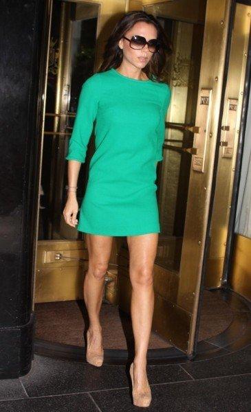 A las celebrities les encanta el verde. ¿Te apuntas a la moda?
