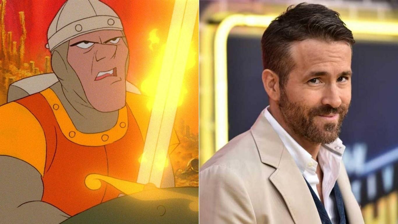 Netflix adaptará el videojuego clásico 'Dragon's Lair' con Ryan Reynolds como protagonista