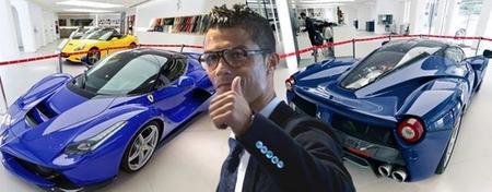 Ferrari LaFerrari, el último capricho de Cristiano Ronaldo