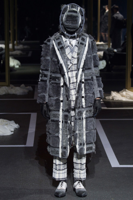 Thom Browne Fall Winter 2016 Paris Fashion Week 18