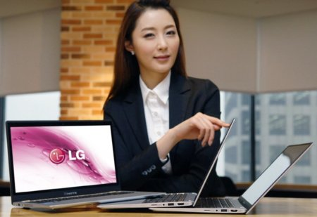 LG Xnote Z330, el panel ultrafino Shuriken llega a los ultrabooks