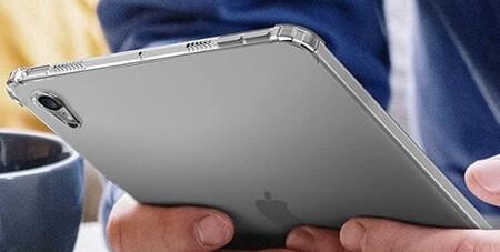 Una supuesta funda del iPad mini muestra la recolocación de los botones de volumen para dar cabida al Apple Pencil