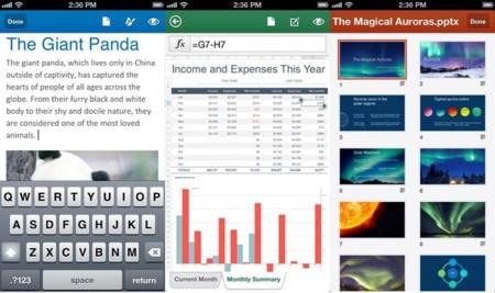 Microsoft lanza Office para iPhone, pero sólo en Estados Unidos