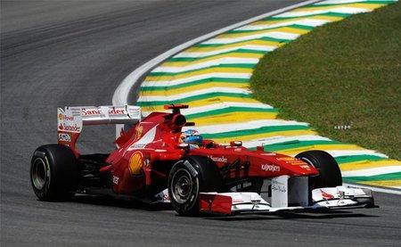 GP de Brasil F1 2011: Fernando Alonso, abonado a la quinta posición