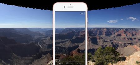 Ahora puedes subir fotos de 360 grados a tu feed y enviar respuestas con vídeo en Facebook