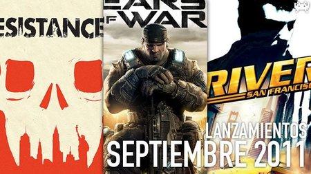 Guía de lanzamientos: septiembre de 2011