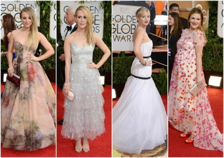 tendencias globos de oro 2014 estilo princesa