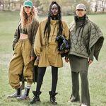 Las ganas de hacerse con un abrigo acolchado de color verde militar incrementan con la nueva colección para este Otoño 2021 de H&M