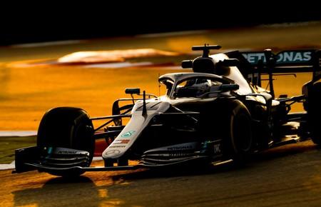 Bottas Mercedes Test Pretemporada
