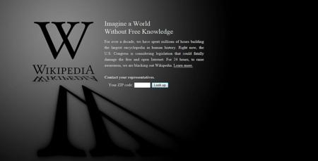 Wikipedia se marcha de Go Daddy