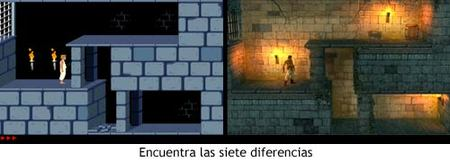 Prince of Persia Classic - Diferencias