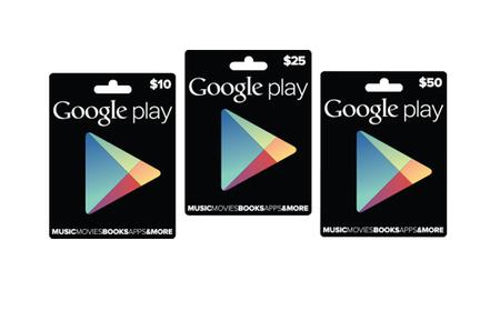 Google lanza de manera oficial sus tarjetas para su Google Play