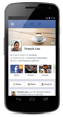 Facebook en Android tiene más usuarios activos que en iOS