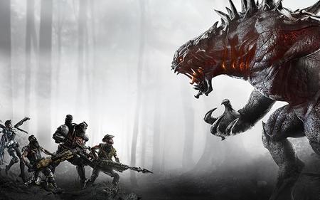 Evolve tiene un extraño glitch donde 5 cazadores se enfrentan a un monstruo