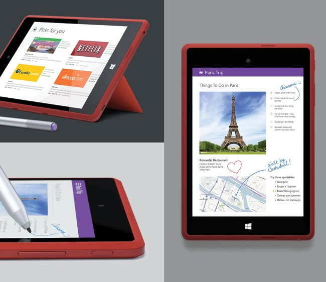 Estas imágenes nos permiten conocer mejor a la Surface mini que Microsoft canceló: 7,5 pulgadas y Windows RT