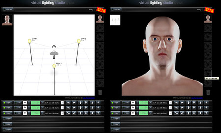 Virtual Lighting Studio: Un estudio virtual para estudiar la iluminación en fotografía