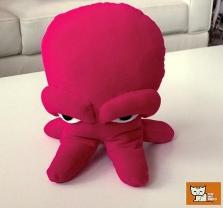 En Oh' My Neko hacen peluches para niños a partir de diseños infantiles