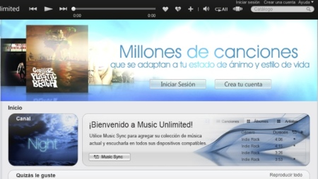 Music Unlimited de Sony ya está disponible para iOS