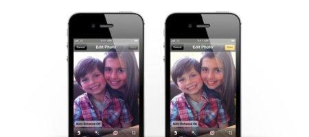 iOS 5: nueva herramienta de ajuste fotográfico