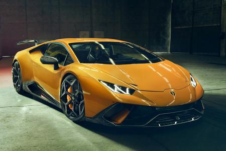 Novitec propone algo de maquillaje para el Lamborghini Huracán Performante