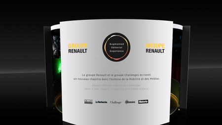 Renault Augmented Editorial Expérience AEX