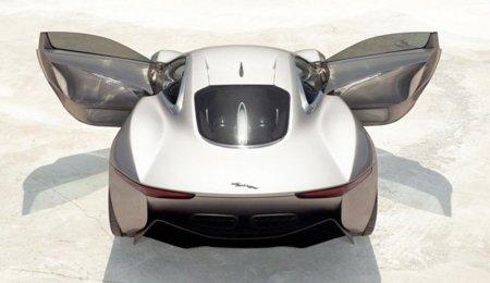 El Jaguar C-X75 del millón de euros ya se puede ver en Madrid