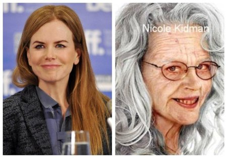 Nicole-Kidman de anciana