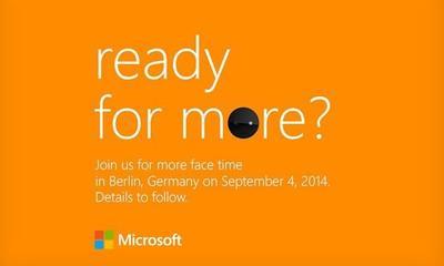 Microsoft anuncia un evento el 4 de septiembre... ¿para presentar los Lumia 730 y 830?