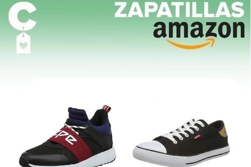 Chollos en tallas sueltas de zapatillas Lacoste, Tommy Hilfiger, Pepe Jeans o Levi's en Amazon