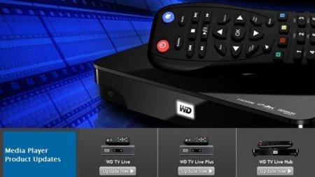 Western Digital actualiza los servicios de Intenet de sus centros multimedia