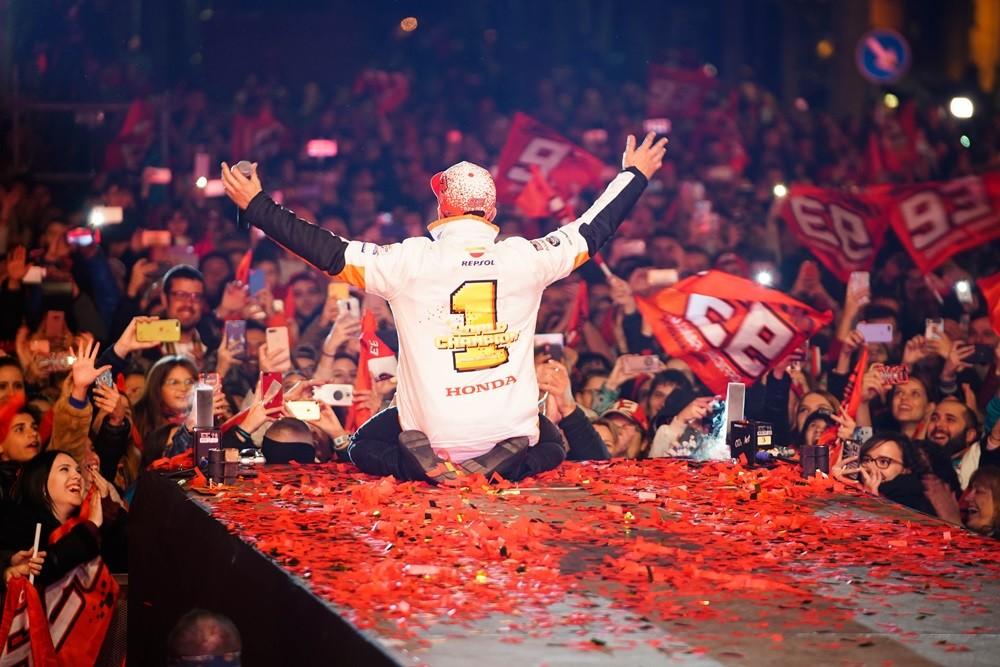 Foto de Celebración del séptimo título de Marc Márquez (4/12)