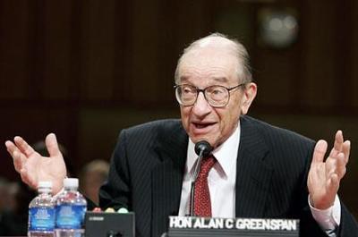Se empieza a criticar a Alan Greenspan