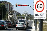 Radar en carretera