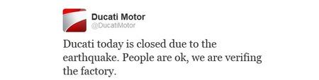 Ducati Twitter