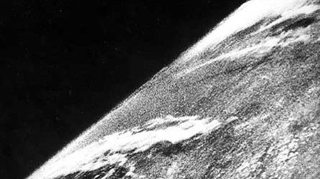 Esta fue la primera foto hecha desde el espacio y acaba de cumplir 73 años