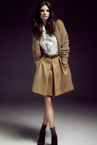 Massimo Dutti, colección Winter Holiday 2010 look