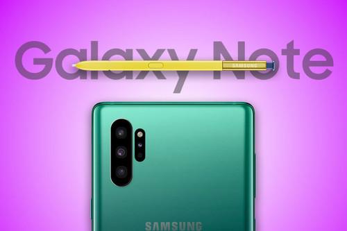 Samsung Galaxy Note 10: de uno a cuatro modelos, 5G y todo lo que creemos saber sobre él