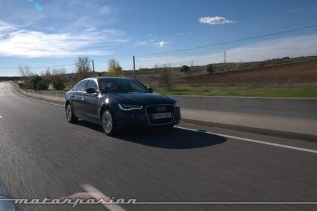 Audi A6 hybrid, prueba (equipamiento y seguridad)