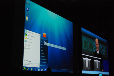 Windows 7 muestra su rostro en la PDC 2008