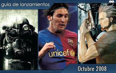 Guía de lanzamientos: Octubre de 2008