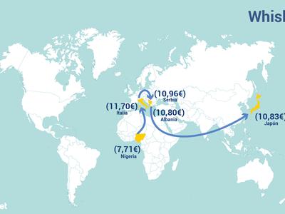 La ruta mundial del borracho: en qué países es más barato comprar cada tipo de alcohol