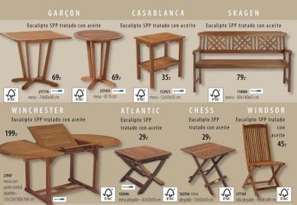Los muebles de jardín de Casa