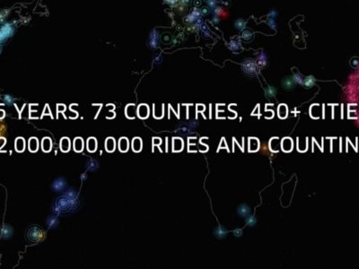 Uber alcanza una cifra récord al hacer 2.000 millones de viajes en todo el mundo
