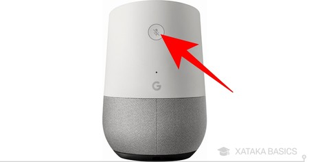 Google Home Detras