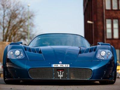 "Así es el Maserati ""edo MC12 VC"", el coche que huyó del circuito para circular en carretera"