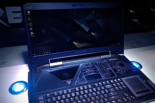 Acer también tiene una laptop gamer que cuesta lo mismo que un auto, llega a México junto con otros productos
