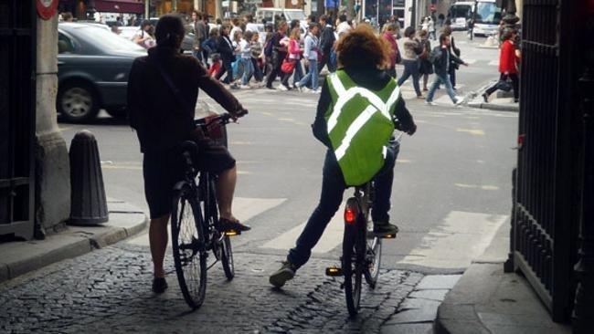 Chaleco ciclista