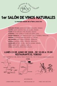 1er Salón de Vinos Naturales