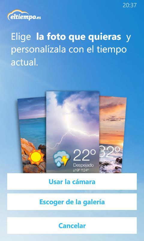 Foto de Eltiempo.es para Windows Phone 8.1 (17/18)